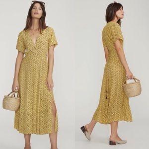 NEW Faithfull The Brand Leila floral wrap dress